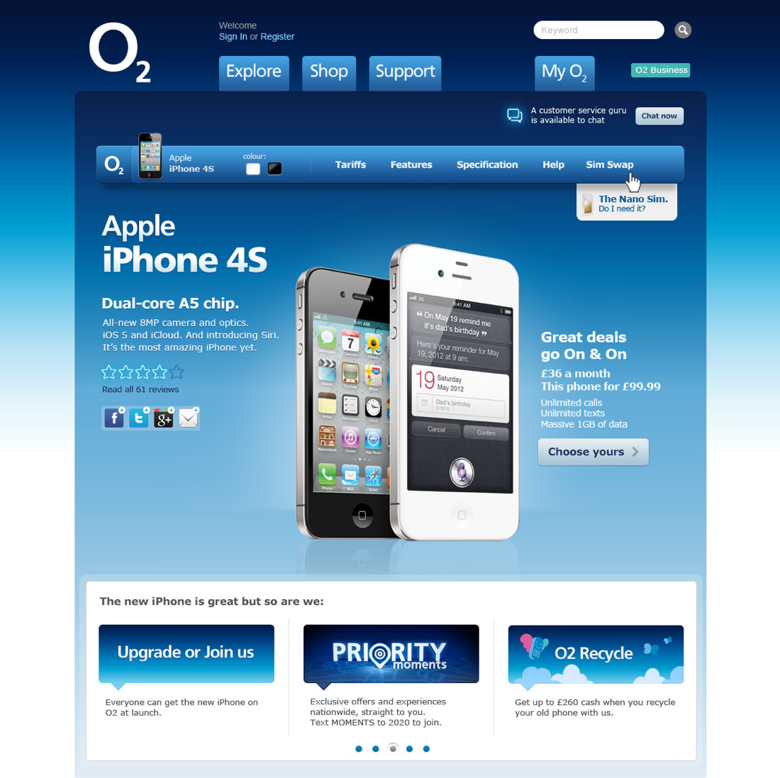 o2 business chat